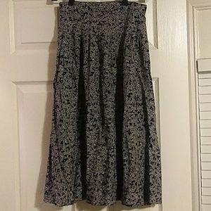 Vintage Norton McNaughton petite midi skirt